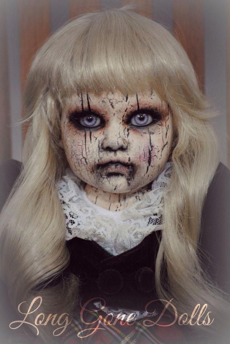 81 Best Spooky Dolls Images On Pinterest Halloween Stuff