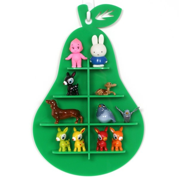 Green Pear Shadow Box from Candy Stripe Cloud