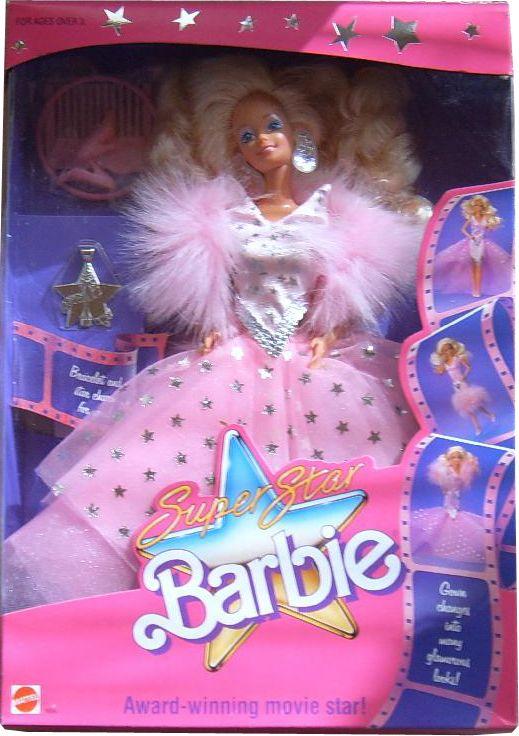 *1988 super star Barbie doll 2 1604 Jouet, Enfance Dans Les Années 1990