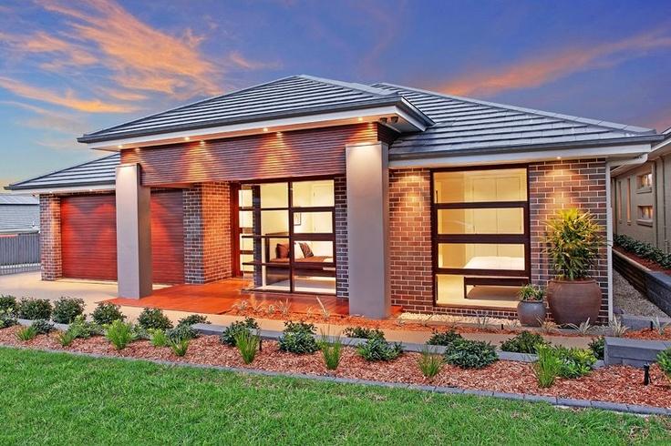 McDonald Jones Homes - Display Home - Front Landscaping