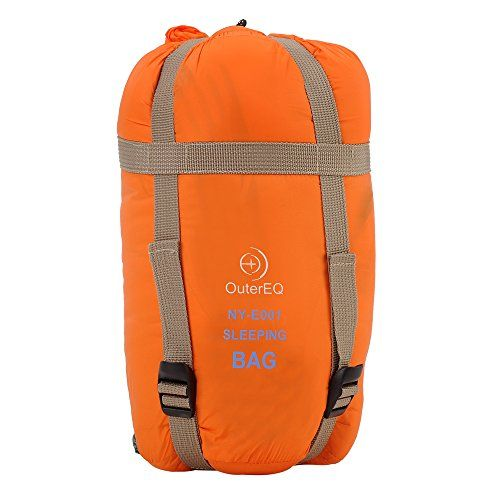 OuterEQ Outdoor Sleeping Bag Camping Hiking Sleeping Bag Backpacking Waterproof Sleeping Bags (Orange) - check it out at... http://backpackingandcampingessentials.com/backpacking-sleeping-bags/outereq-outdoor-sleeping-bag-camping-hiking-sleeping-bag-backpacking-waterproof-sleeping-bags-orange/