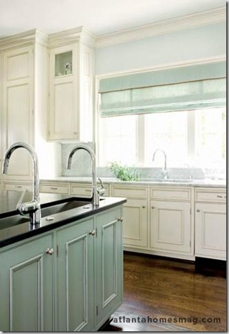 Paint color sherwin williams sw 6211 craft ideas for Kitchen cabinet painting atlanta