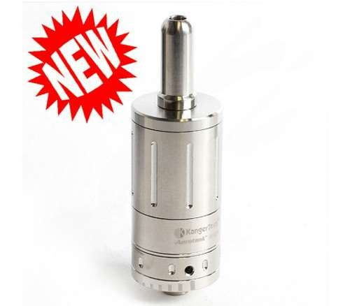 Kanger Aerotank Mega Glassomizer In this version the atomizer heads have also been redesigned with the wicks hidden to further prevent leakage.