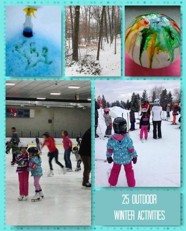 Family Activities: 17 Best Images About Winter Time Fun Outside On Pinterest