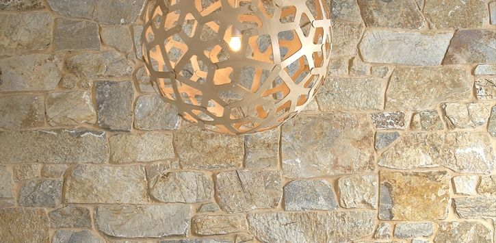 Random Ashlar natural stone veneer
