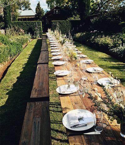 Kinfolk Dinner Series at Glenmore House // simplicity