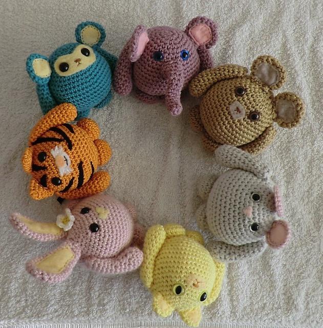 Amigurumi Ball Animal : 970 best images about Amigurumi -Crochet Cute Animals and ...