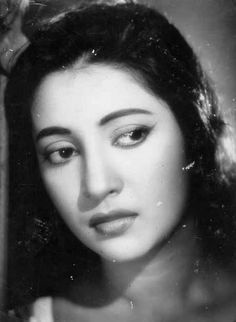 """Suchitra Sen in """"Bombai Ka Babu"""" (1960e1874aaef86b11cedf1e14561a798552.jpg (236×322)"""