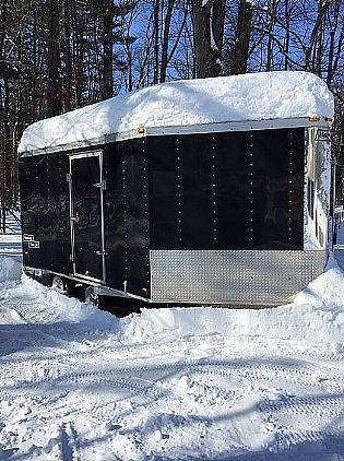 2004 Haulmark Snowmobile Trailer Snowmobile Trailers For Sale in Saratoga Springs, NY A00021 | Want Ad Digest Classified Ads