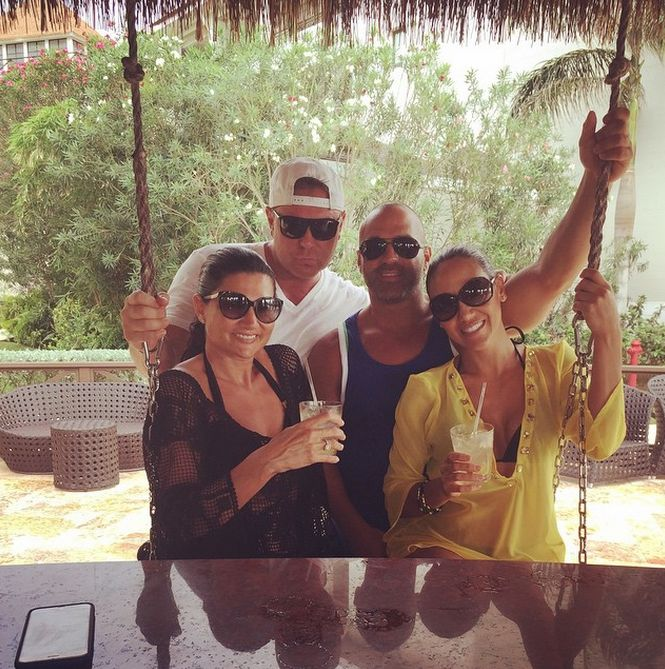 PHOTOS: #RHONJ Melissa & Joe Gorga Vacation in Jamaica... Come on! Let's hear your thoughts, snarks and please read more at: http://allaboutthetea.com/2015/04/10/rhonj-melissa-joe-gorga-vacation-in-jamaica/