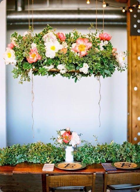 Hanging flowers...
