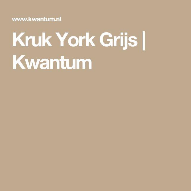 Kruk York Grijs | Kwantum