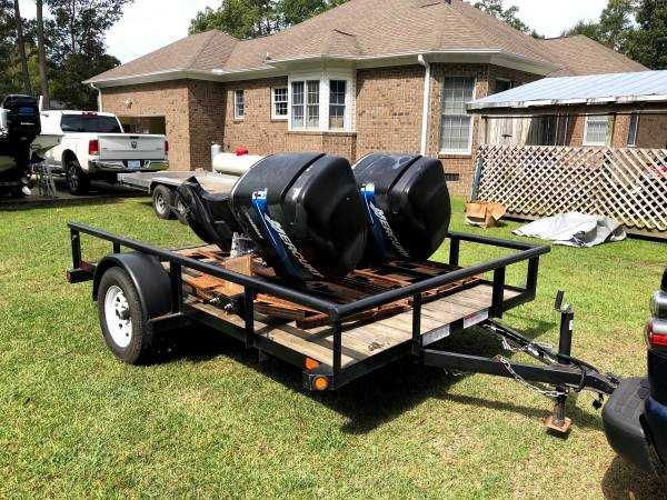 999 Mercury 225 Counter Rotating Outboards These Engines Are Fuel And Oil Injected Motors They Have Under 800 Ho In 2020 Outdoor Furniture Sets Boat Projects Counter