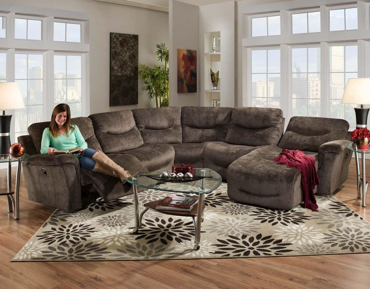 Contemporary Living Room Sectional Furniture