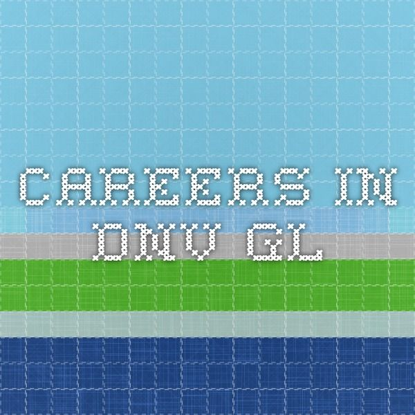 Careers in DNV GL