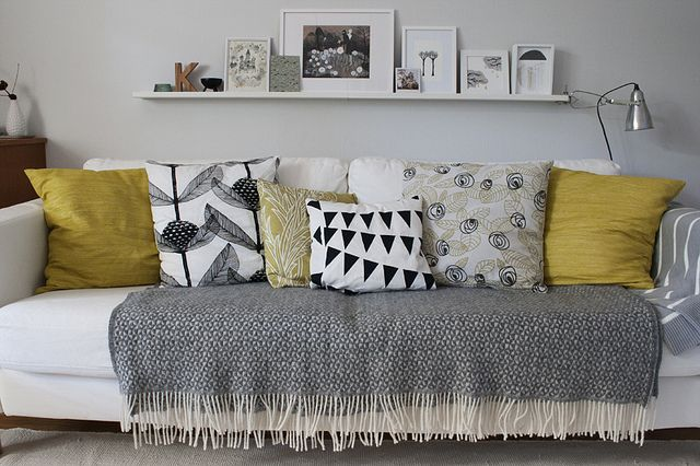 Very nice. I like the throw on the seats - the part that gets the most wear and tear. Pillow prints are striking.: