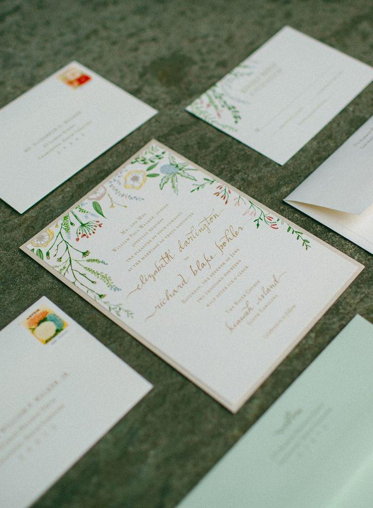 134 best studio r wedding invitations images on pinterest river course at kiawah wed wedding event design stopboris Choice Image