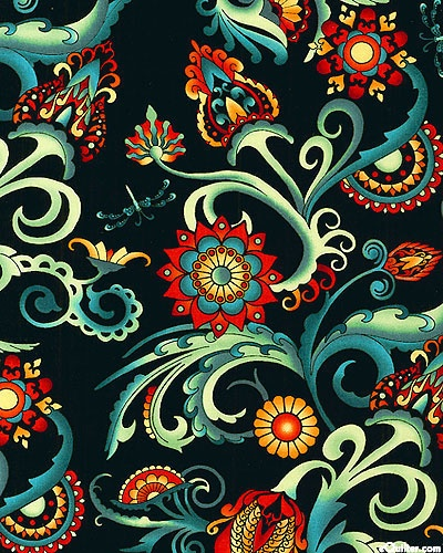Deco' collection by Jason Yenter for In The Beginning Fabrics.