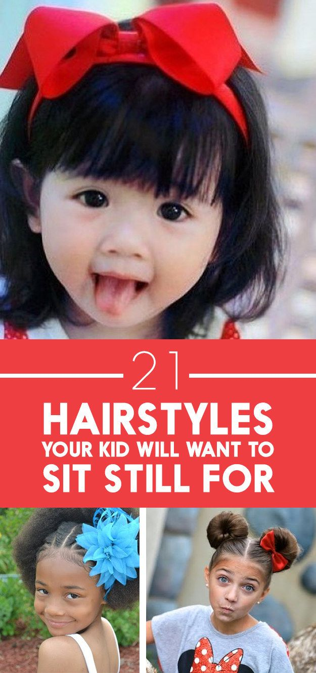 Easy to do hairstyles for extremely busy parents.
