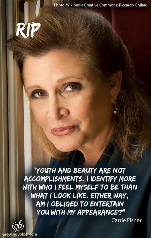 Vale Carrie Fisher