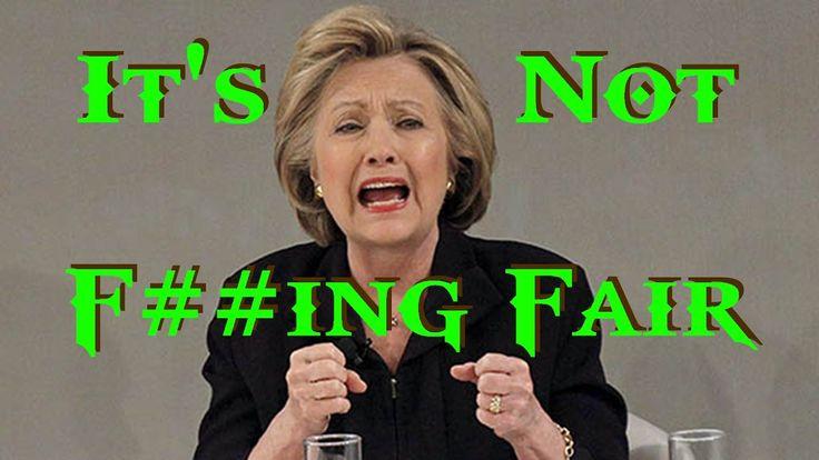 Hillary Clinton On The Run