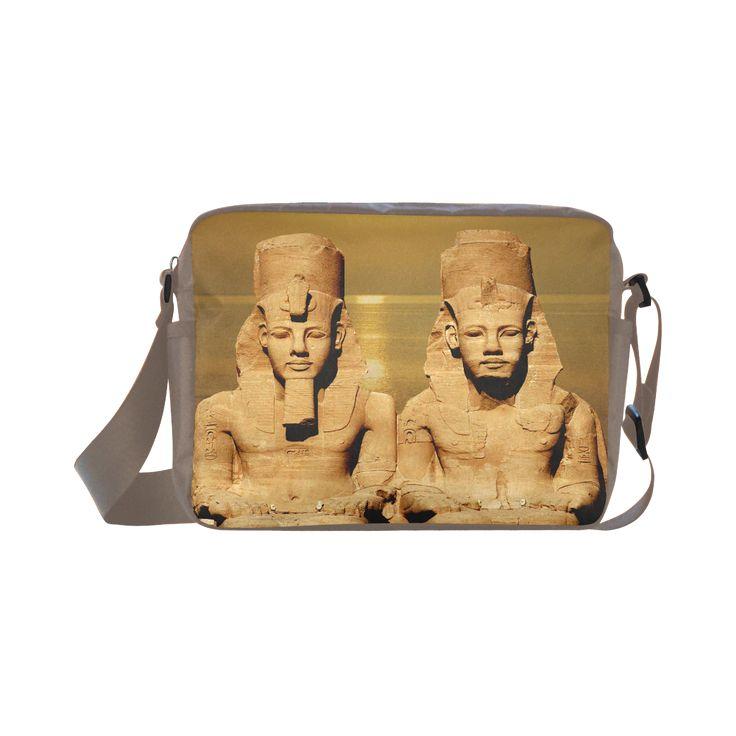 Temple of Sun Classic Cross-body Nylon Bag. FREE Shipping. #artsadd #bags #egypt