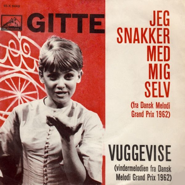 Performed by Gitte Henning. At the Danish Final this song was sung in two versions. Eventually this song represented Denmark at Eurovision 1962.