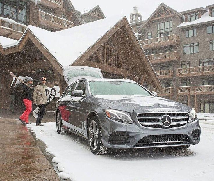 "496 aprecieri, 1 comentarii - Mercedes-Benz Romania (@mercedesbenzro) pe Instagram: ""Dear ski fans, the time is now! Winter is here! ⛷ . . . #Mercedes #Benz #MercedesBenz #Eclass…"""