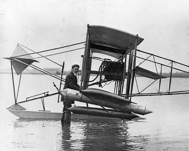 May 21, 1878: Glenn Hammond Curtiss was born in Hammondsport, New York. He became the pioneer of the first years of powered flight and rival of the Wright brothers.