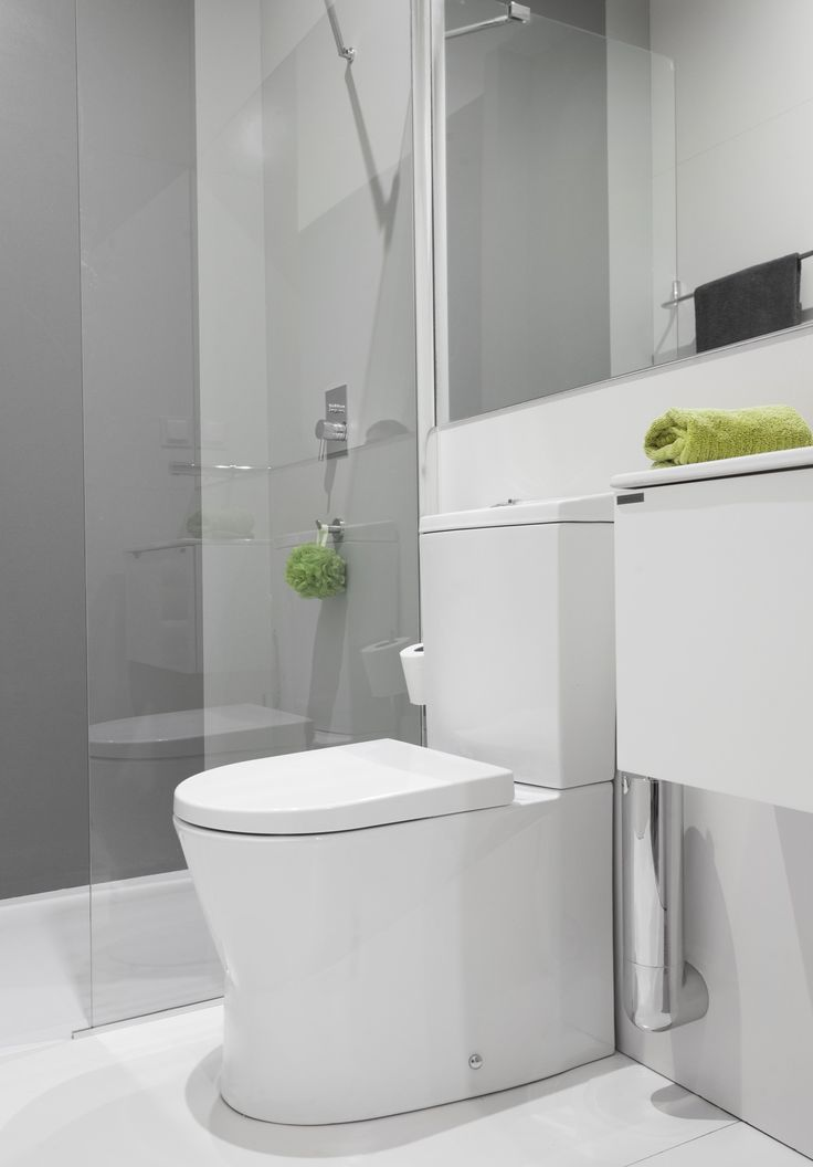 10 best images about narrow ensuites on pinterest - Toilet design small space property ...
