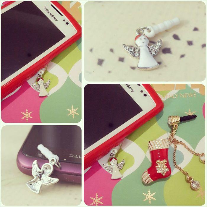 Koleksi Jewelry Pluggy (Stok Terbatas) :  Kode : AWS-197, Nama : Cute Angel Pluggy / Gantungan HP, Price : IDR 35
