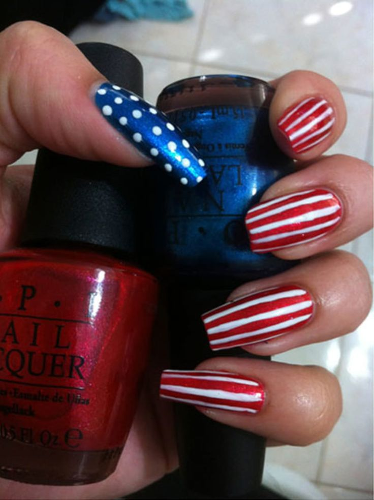 28 Best USA Nails! Images On Pinterest