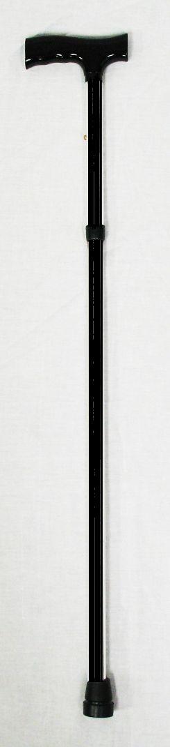 Aluminum Folding Cane, Color: Black.