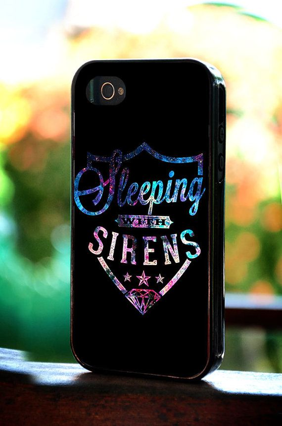 Silicone  Plastic  Sleeping With Sirens Logo by LingLingCase, $14.99