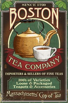twinings tea posters vintage - Google Search