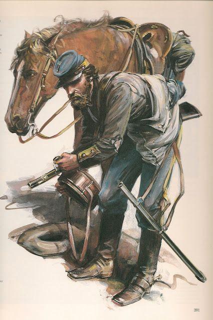 Caballeria confederada :1865.                                                                                                                                                                                 Más