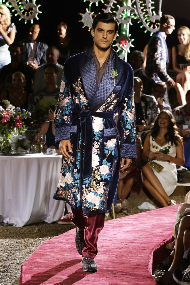 Dolce & Gabbana Alta Sartoria Menswear Fall/Winter 2015-2016