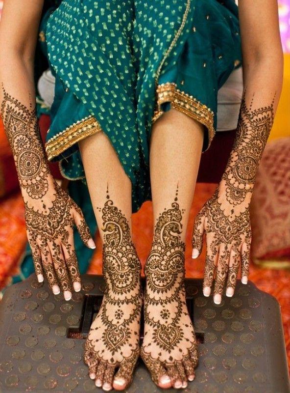 Beautiful Henna Designs for Eid