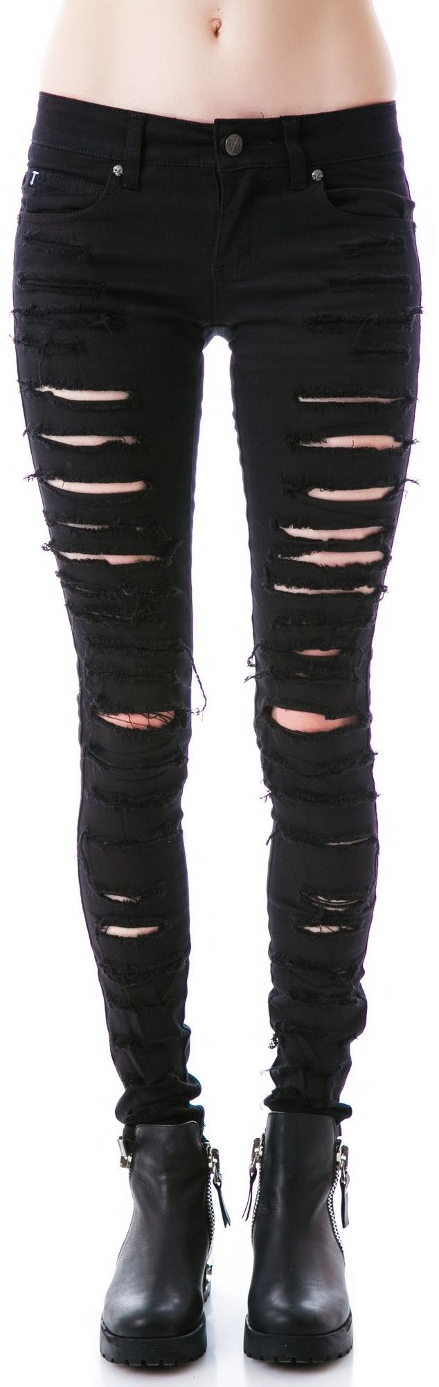 Tripp NYC Cat Fight Pants | Dolls Kill With red fishnets underneath? I think yes!