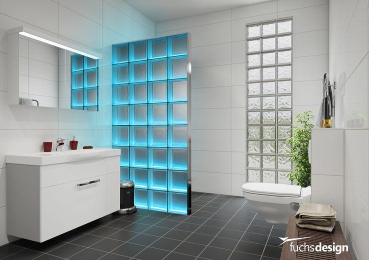 11 besten glassteinwand glasbaustein leuchtwand glasziegel bauholzm bel bilder auf. Black Bedroom Furniture Sets. Home Design Ideas
