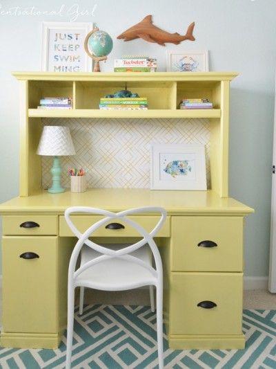 Painted Desk 273 best painted desks images on pinterest | painted desks