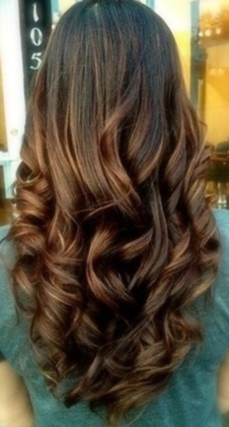 styles for long curly hair 40 attractive wavy hairstyles for and hair 2414 | f5a55b3907b16f8e07ea58201ea7fa7f perfect curls perfect bun