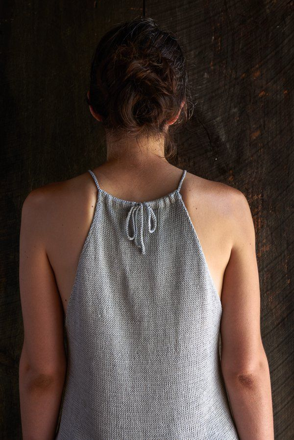 Drawstring Camisole, free on Purl Bee