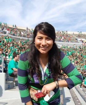 Campus Celebrity: Andrea Romeros '15 | Her Campus