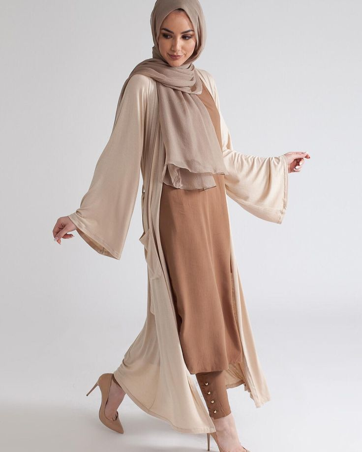 Our Easy Wrap's are the perfect layering option this spring; available in warming shades, Mocha and Nude. #Aab