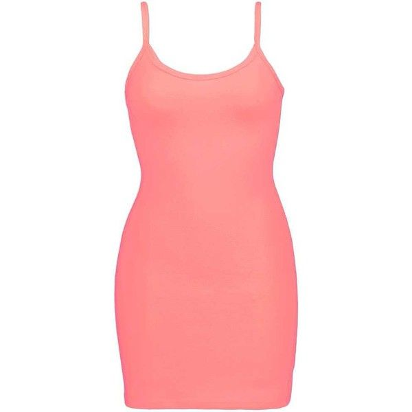 BKE Extra Long & Lean Tank Top - Pink X-Small ($6.30) ❤ liked on Polyvore featuring tops, pink, pink singlet, low top, cotton tank tops, extra long tank and extra long tank tops