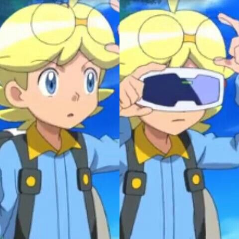 Clemont in the Volcanion and Magearna movie♥
