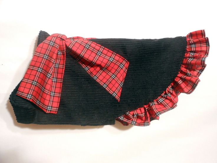 RED TARTAN COAT $39.95 For all the westies out there. Same great coat dress in red tartan.