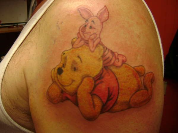 Pooh+Tattoo+Designs | ... Pooh and Piglet chill out together in this cute tattoo « « Ratta