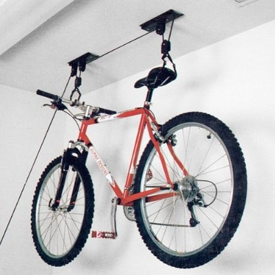 Going to need some indoor storage for the bike on occasion.